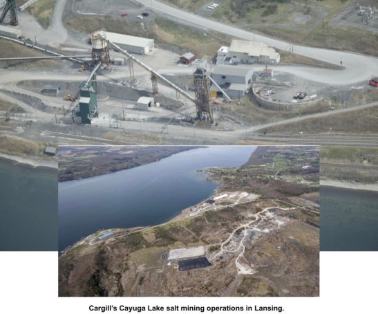 Group calls for end to mining under Cayuga Lake after two go missing when Cargill mine roof collapses in Louisiana