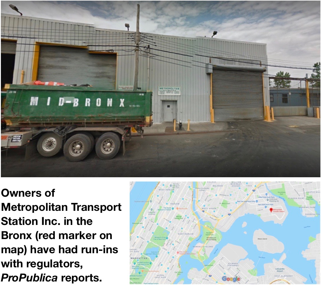 DEC halts Cayuga Regional Digster's waste shipments from NYC; Bronx transport station has past issues
