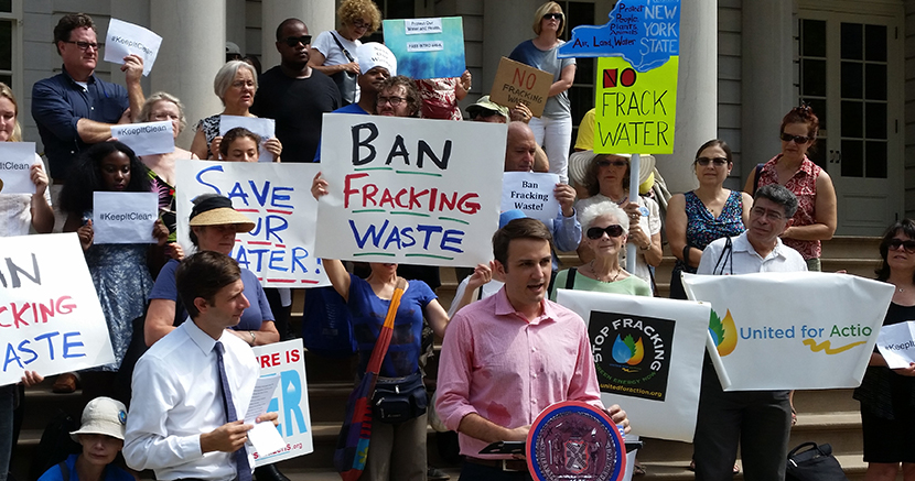 Cuomo signs hazardous waste bill, closing loophole allowing import of gas drilling waste from Pennsylvania